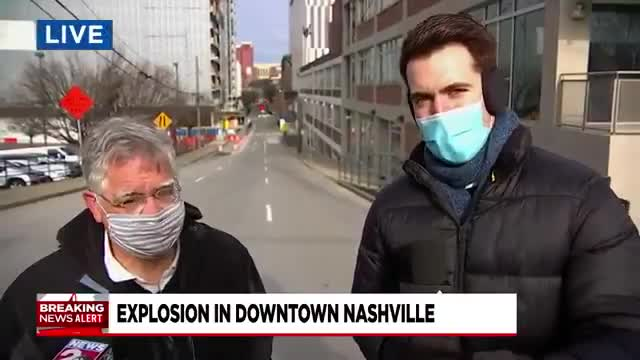 Nashville Mayor John Cooper about the explosion on Second Avenue North early Christmas morning.
