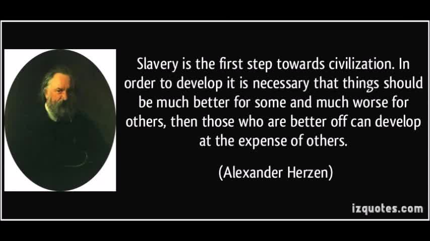 About Slavery & Civilization