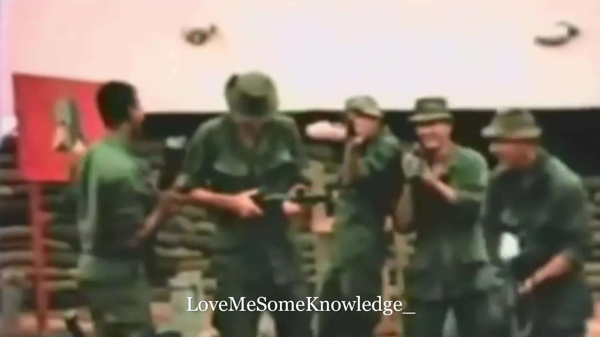 D-Day - General Eisenhower's Speech to Troops - Lost Combat Footage