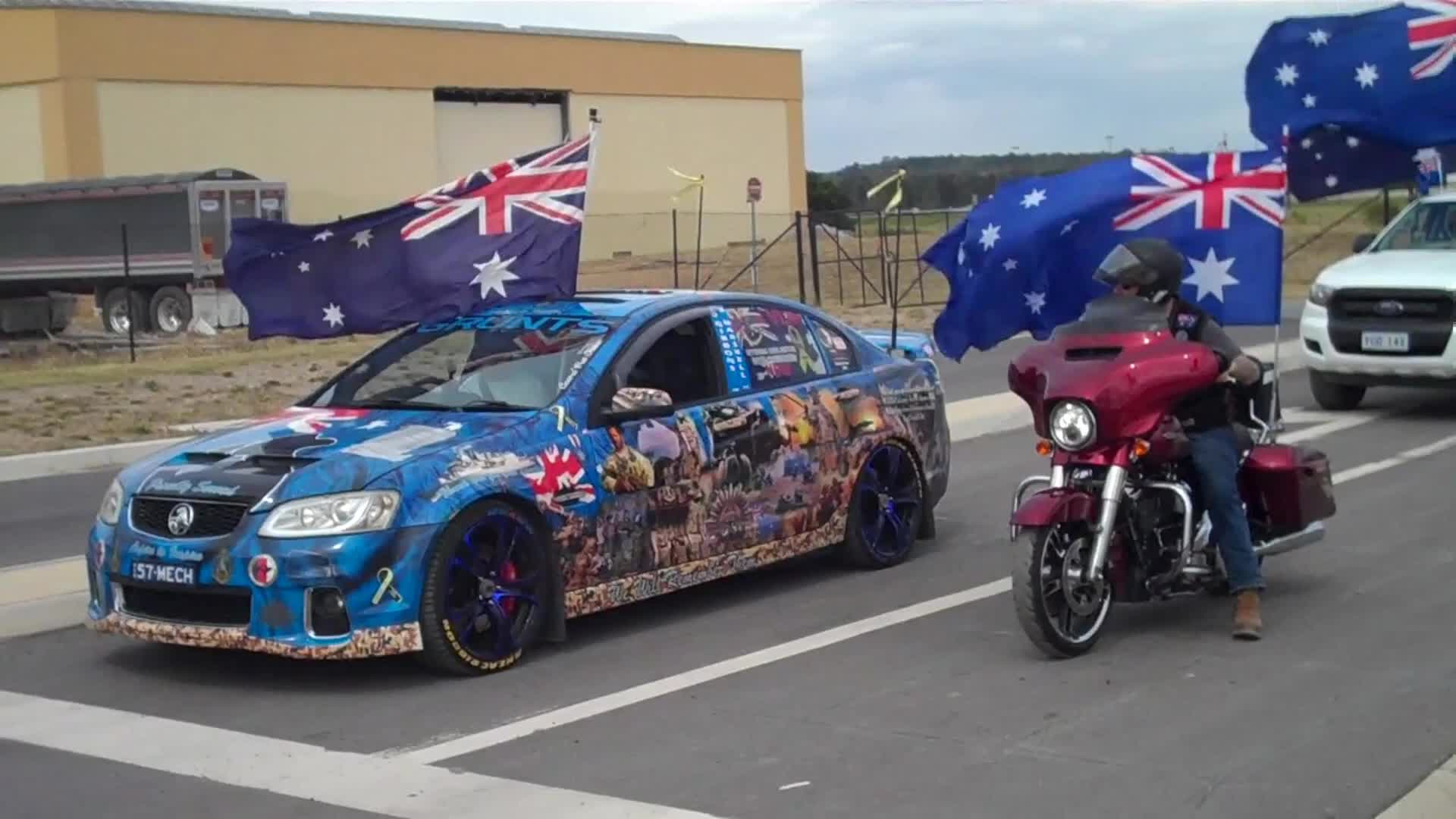 ACT Australia Day Flag Convoy 2021 by AnxiousAussie