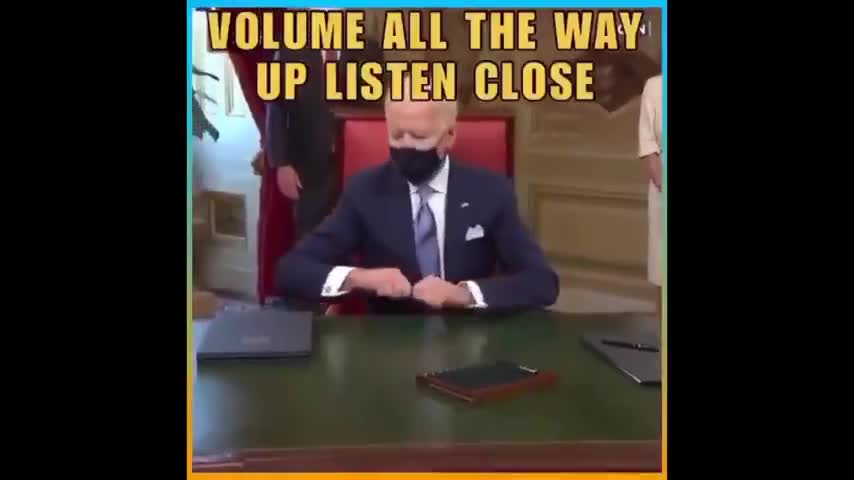 "JOE BIDEN - ""I DON'T KNOW WHAT I'M SIGNING"""
