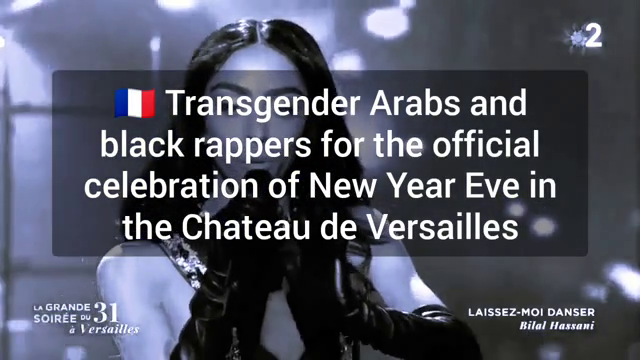 Transgender arabs and black rappers in Versailles for the New Year