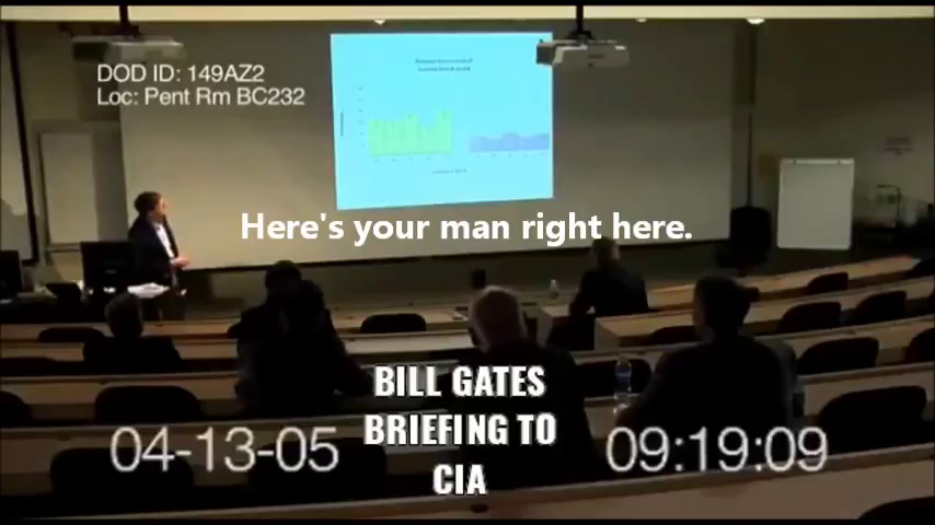 "Bill Gates briefs CIA on use of viruses to ""pacify""  insurgents"