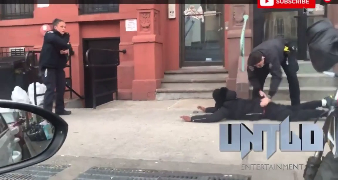 Blasio Called Cops Racist for this Arrest, Claimed he was Unarmed. Video Proves he Lied