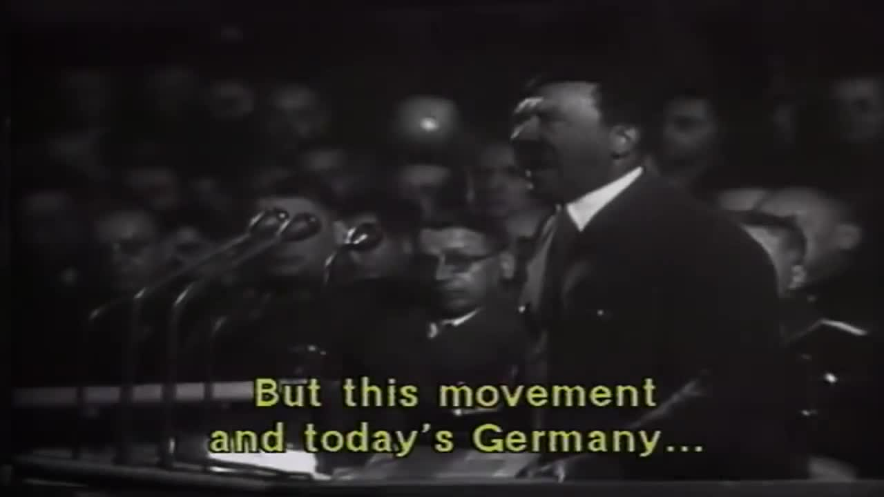 Rare speeches by Adolf Hitler (English subtitles)