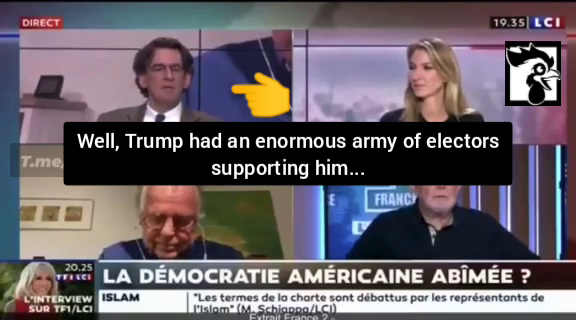 (((Daniel Cohn-Bendit))) has a meltdown on live tv comparing the support for trump as the same as OUR FUHRER, ADOLF HITLER!
