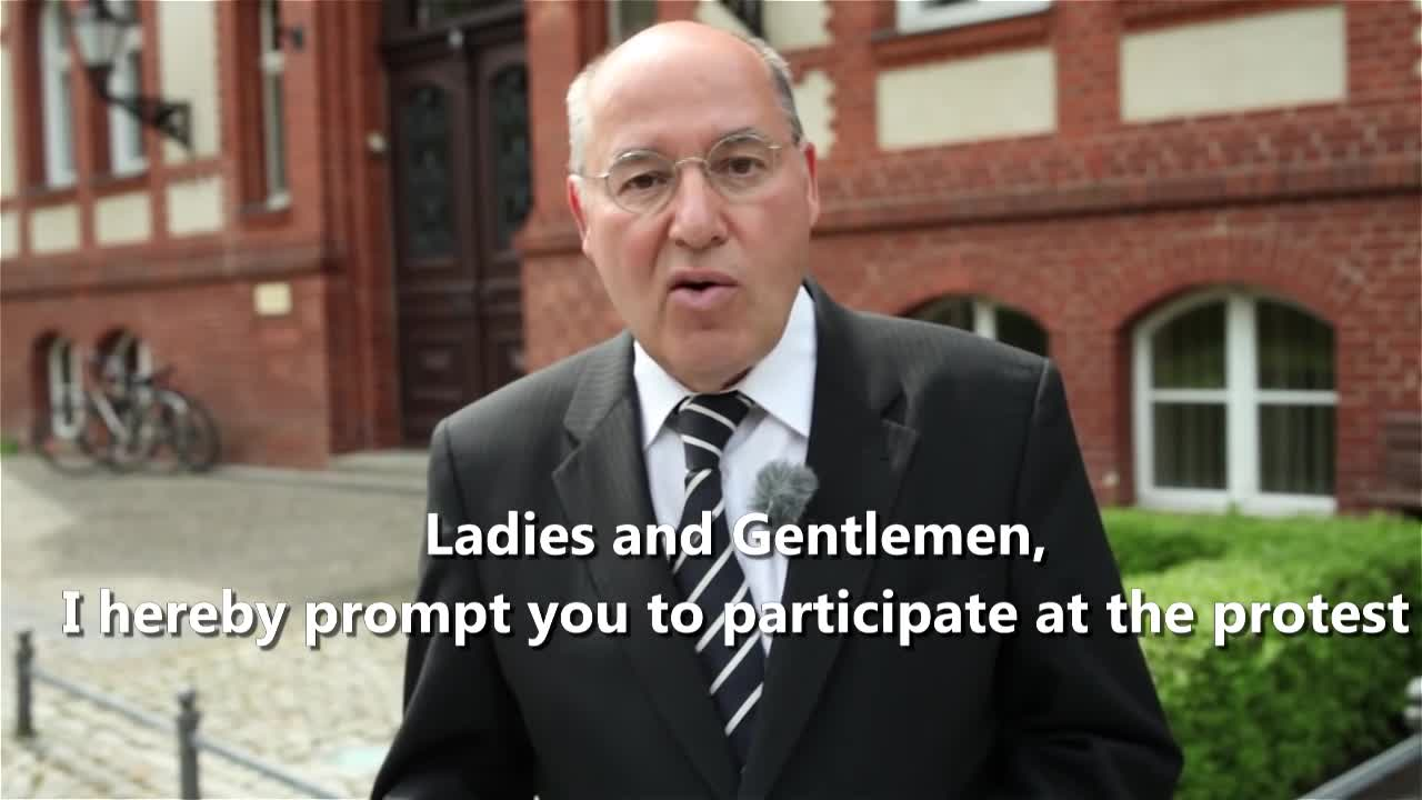 The Great Replacement - German politician Gregor Gysi calls the extinction of German people fortunate - White Genocide