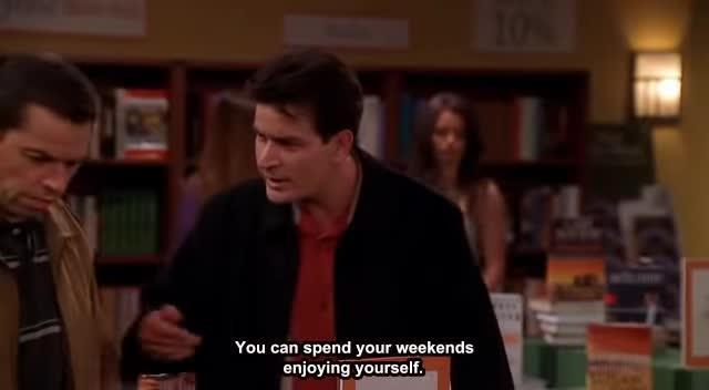 Two And a Half Men - The book frenzy
