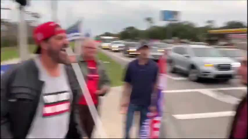 antifa bitch picks a fight ..
