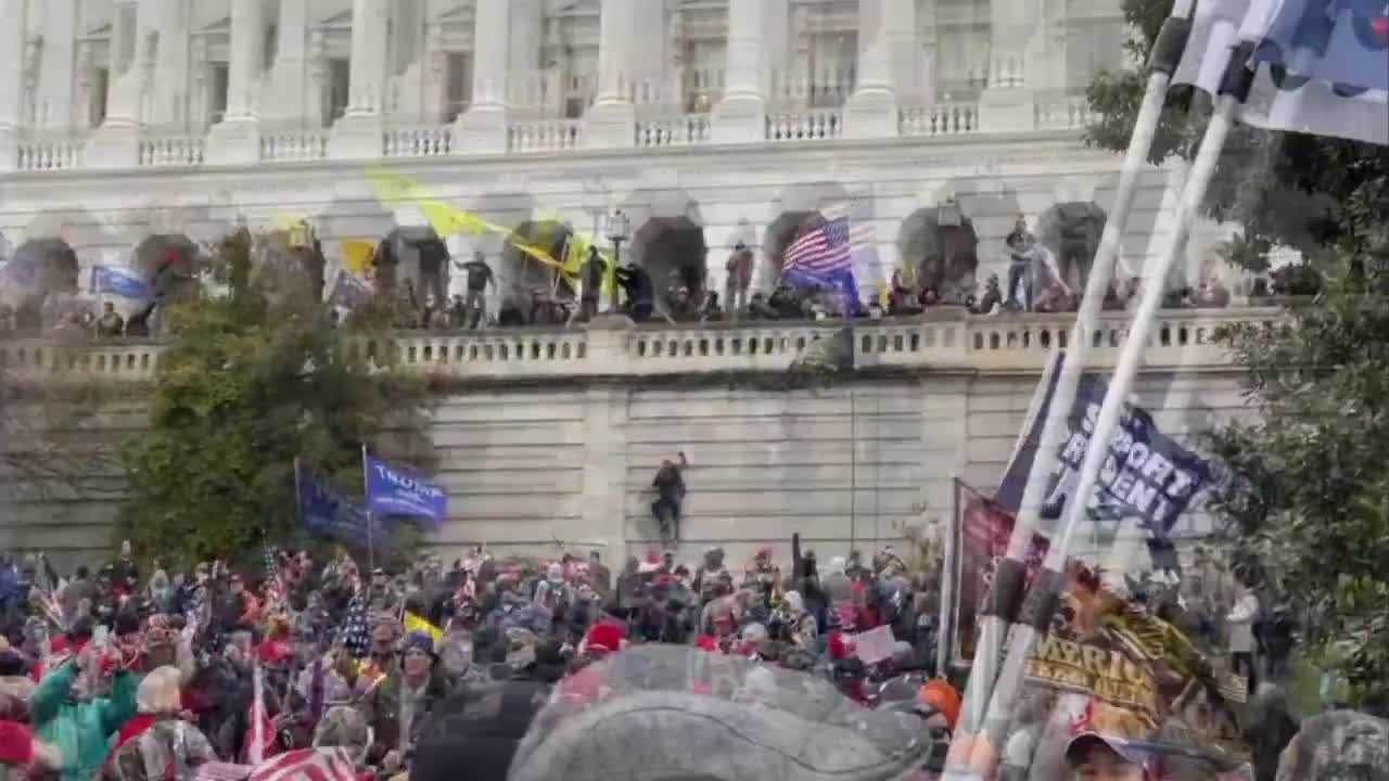 Trump Supporters Have TAKEN OVER the Capitol, BATMAN is on the Scene, 2nd American Revolution