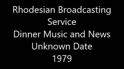 RBC Dinner Music and News Unknown 1979