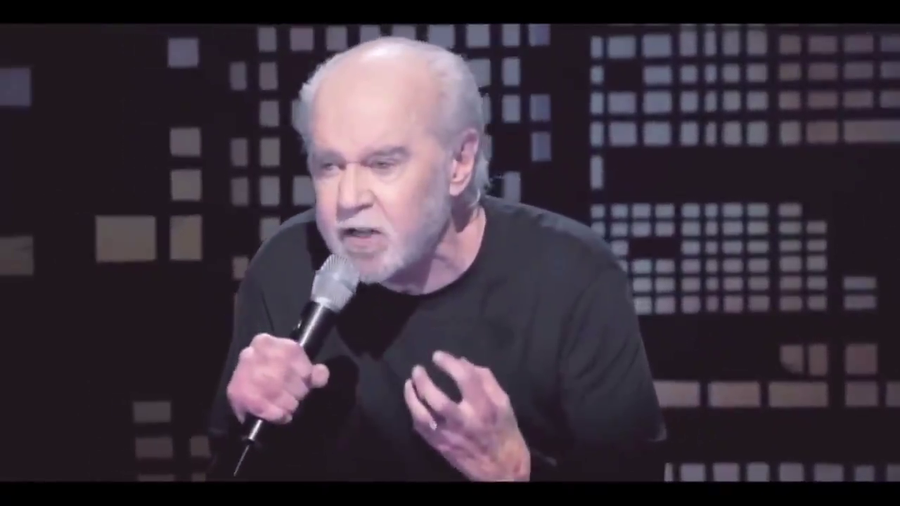 George Carlin was not ahead of his time; he was telling you problems that were always there.