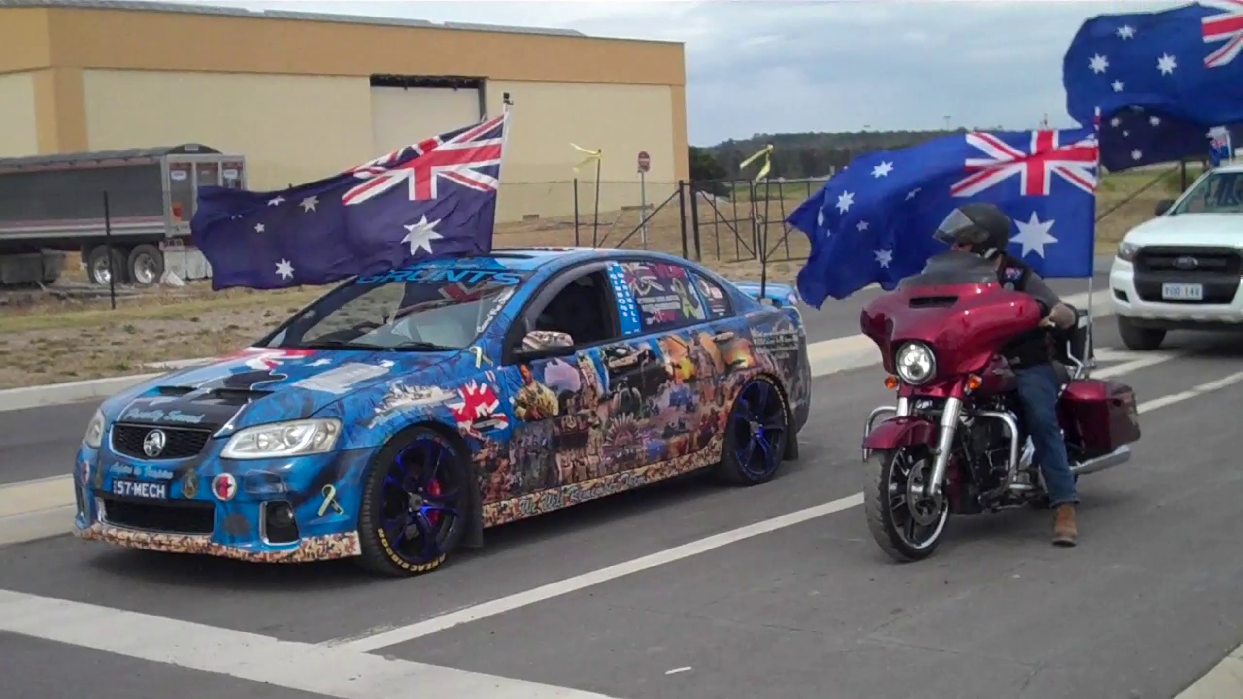 ACT Australia Day Flag Convoy 2021 - On The Road Again!!