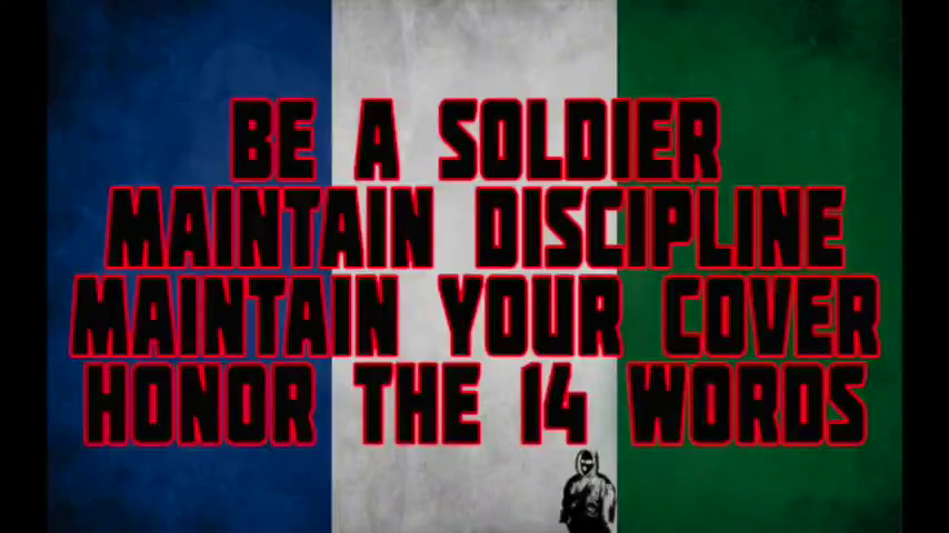 Commonsense NF Behavior By Harold Covington And The Northwest Front.