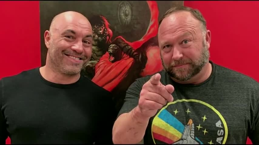 Alex Jones and Joe Rogan Exposed