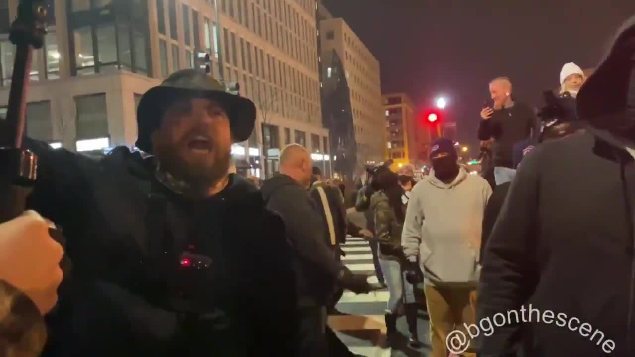 """to cops: """"we had your back, we aint got your back no more, you better have our back or were gonna shoot you"""""""