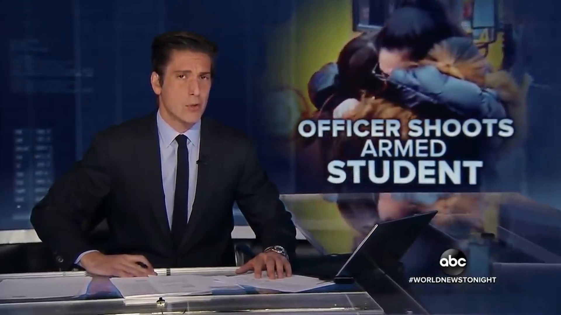 Two Fake Shootings With One Stone