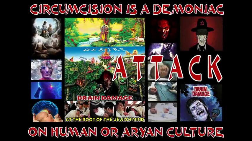 Brain Damage At the Root Of The Jewish Mind