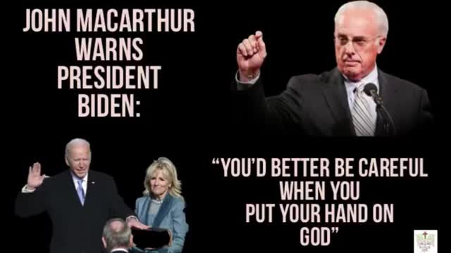 John MacArthur warns President Biden - Must Watch!