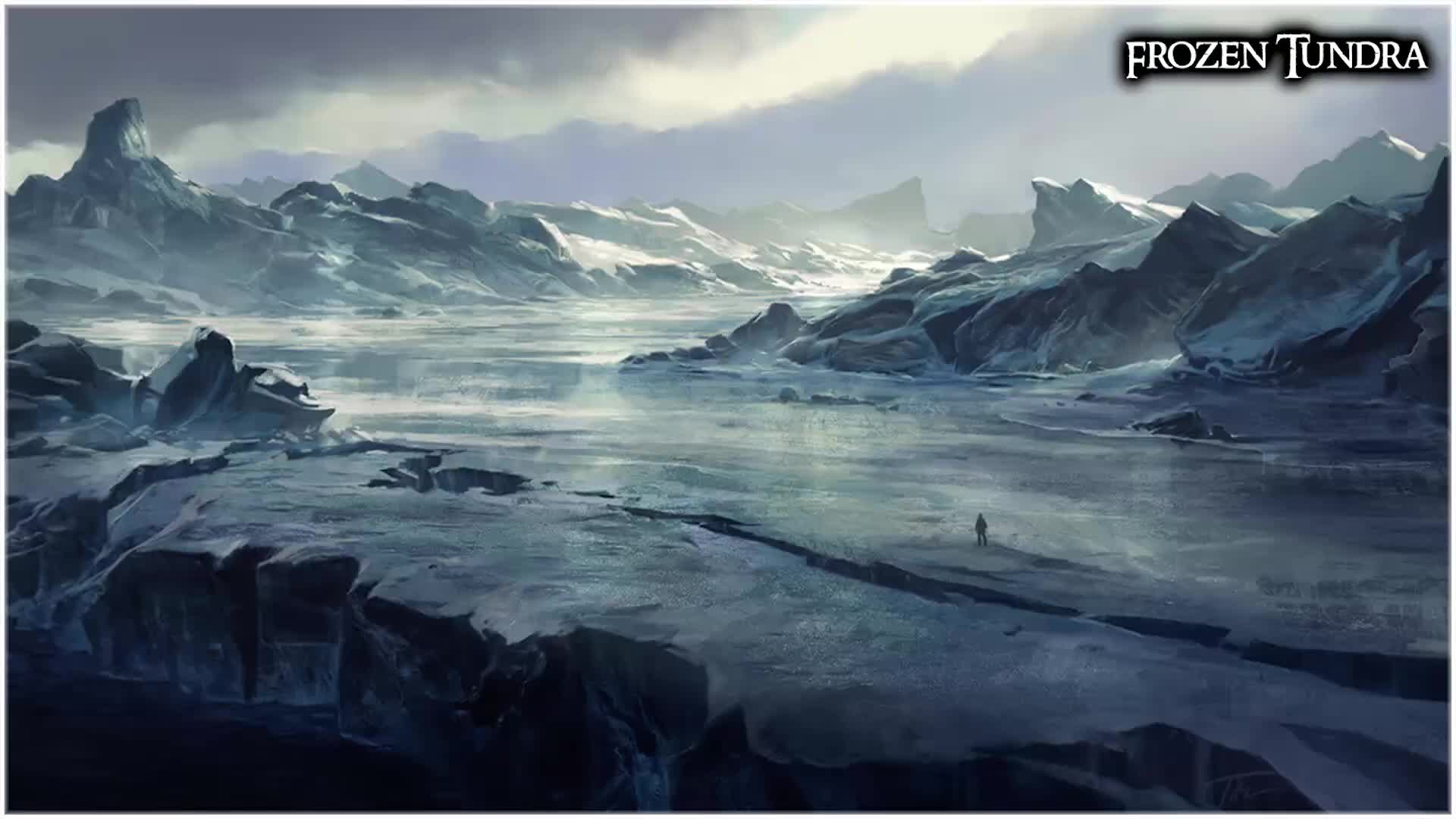 Dungeons & Dragons - Ambience - Frozen Tundra