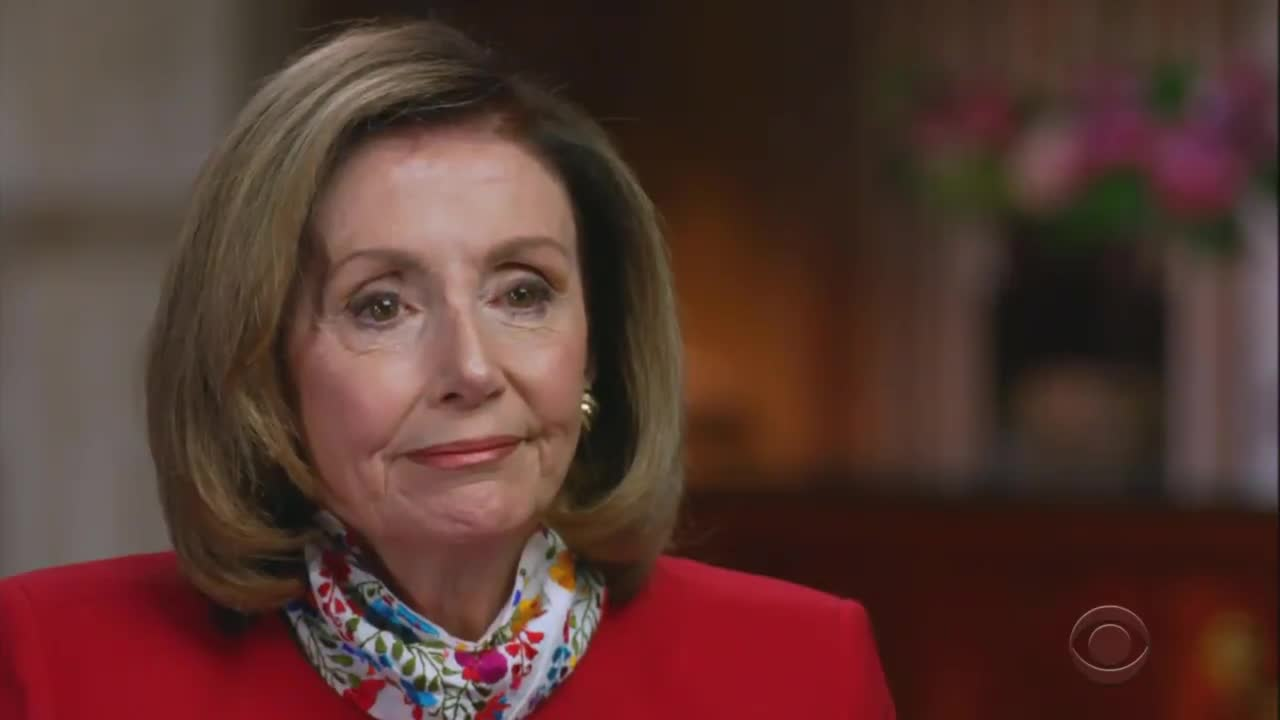 """Pelosi: """"The person that's running the executive branch is a deranged, unhinged, dangerous President of the United States."""""""