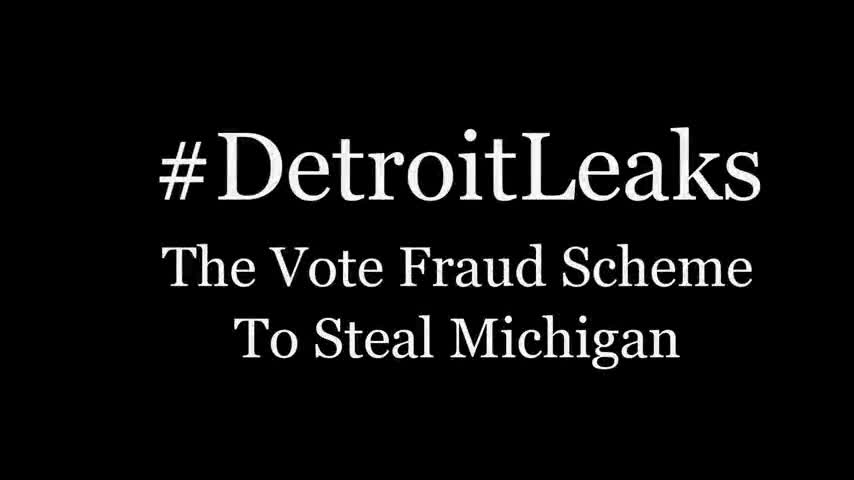 #DETROITLEAKS: STATE EMPLOYEES TRAIN POLL WORKERS TO LIE TO VOTERS, DESTROY BALLOTS, STOP CHALLENGER