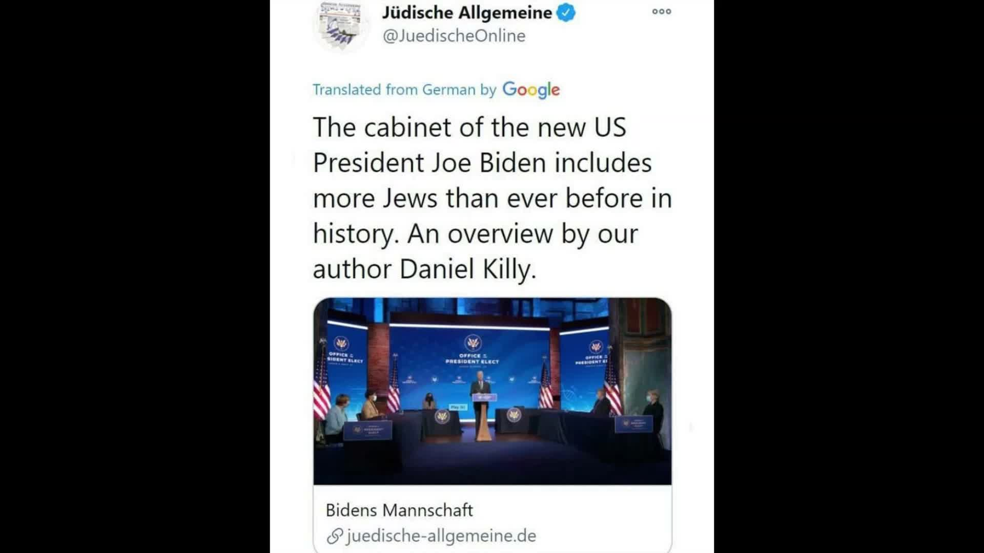 Jews have total control of America