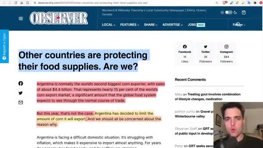 AMERICA WAKE UP YOUR COMMUNIST GOVERNMENT IS TRYING TO STARVE USE OUT HOLODOMOR 2.0