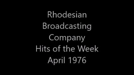 7) Rhodesian Broadcasting Company - Hits of the Week (April 1976)