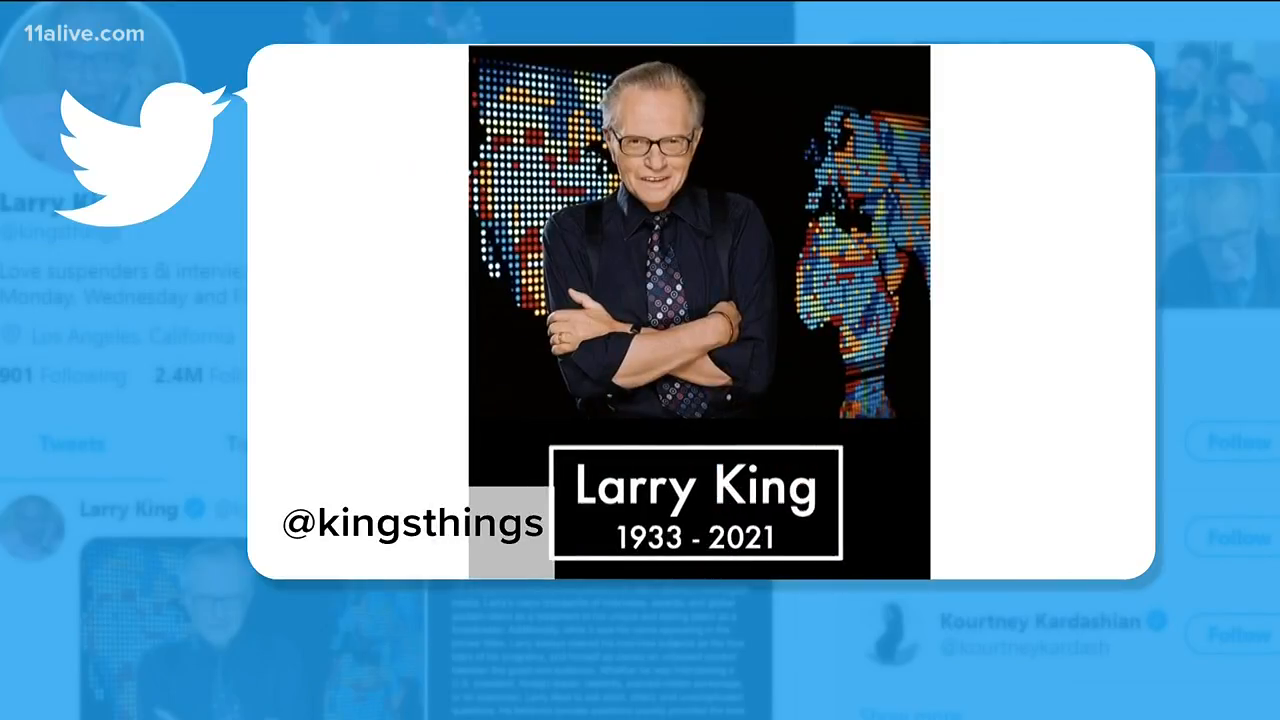 (((larry king))) is dead , light a candle for him