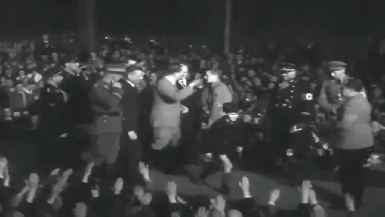 Adolf Hitler - Krupp Factory, Essen, March 27th 1936