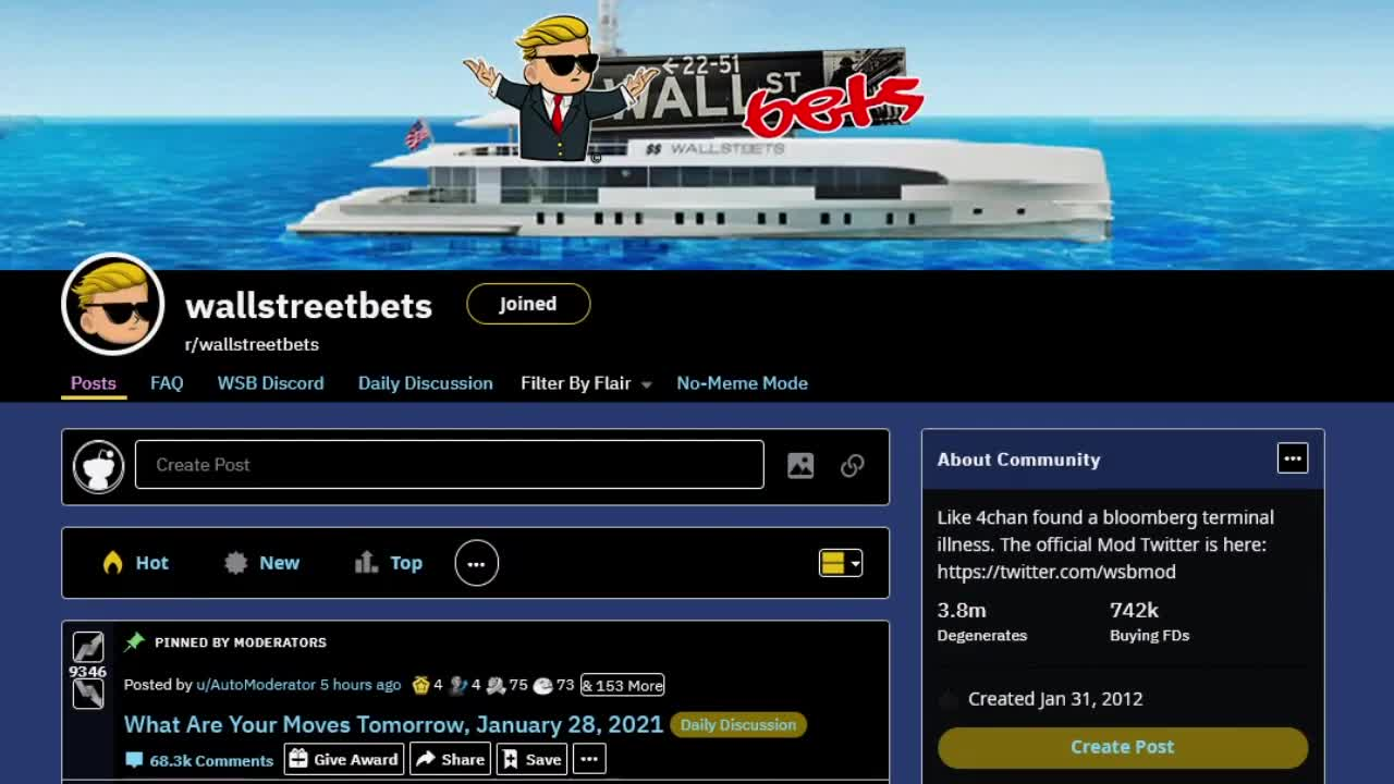 The Day Reddit Won, WallStreetBets NUKES Hedge Funds From Orbit, The EPIC GameStop Stock Saga by Mr Obvious