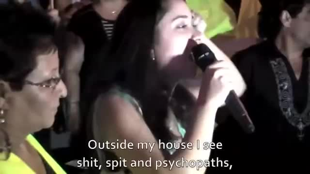 """While Europe is forced to accept millions of """"refugees"""" (Invaders), protesters in Israel cheer at racism"""