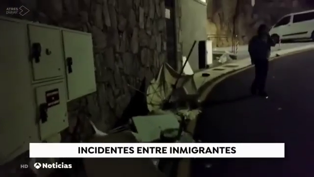 Since the invaders were put in hotels on canary islands last month by the spanish government , every single day theres an average of 10 incidents happening in the islands , they are destroying everything