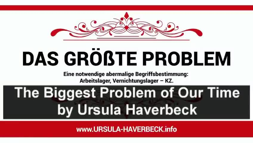 "Ursula Haverbeck - ""There was no Holocaust"""