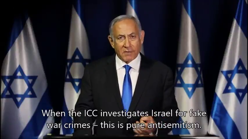 """""""When the ICC investigates Israel for fake war crimes – this is pure antisemitism."""""""