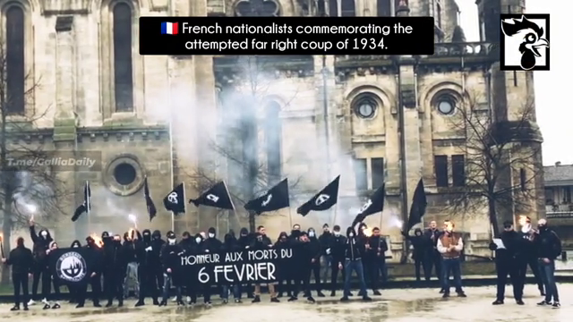 On February 6, 2021, nationalists from all over France commemorated the insurrection of 1934