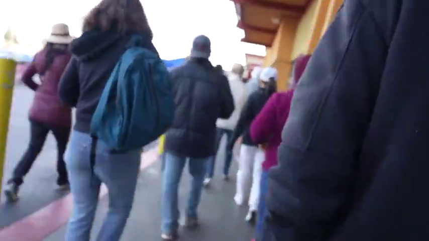 Group of non mask wearers creates havoc in supermarket - The sheep are petrified