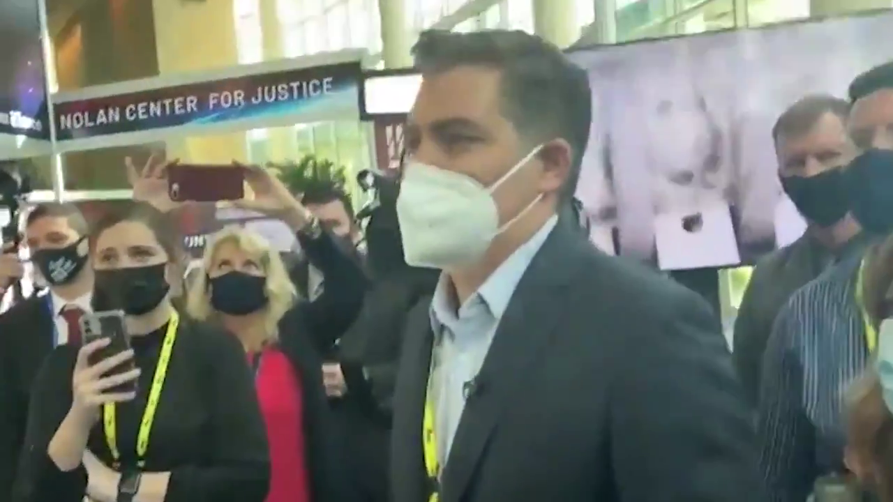 Diaper face piece of trash!