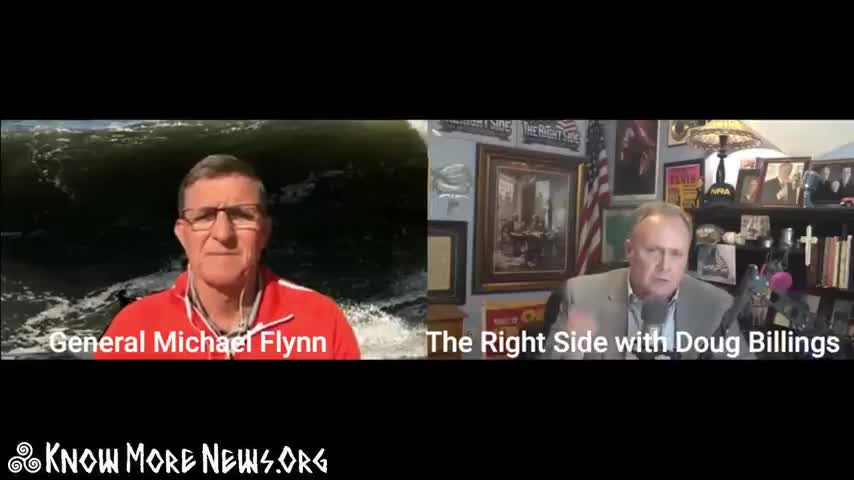 """There is no [QAnon] 'Plan' ""- General Flynn (By: KMN)"