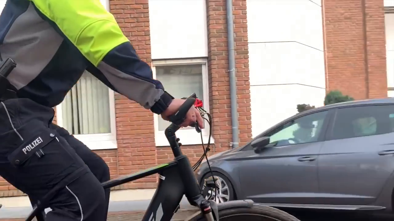 German police and more medical staff joining the ritual (JUST MUTE THE AFRICAN SONG)