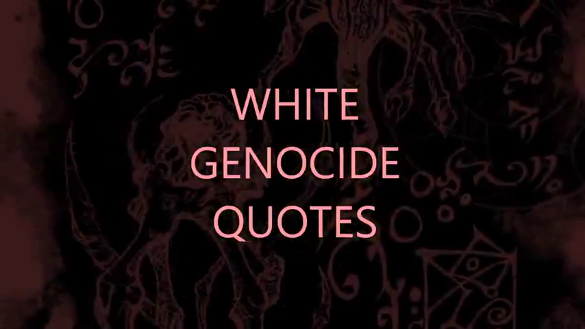 White Genocide Documentary.