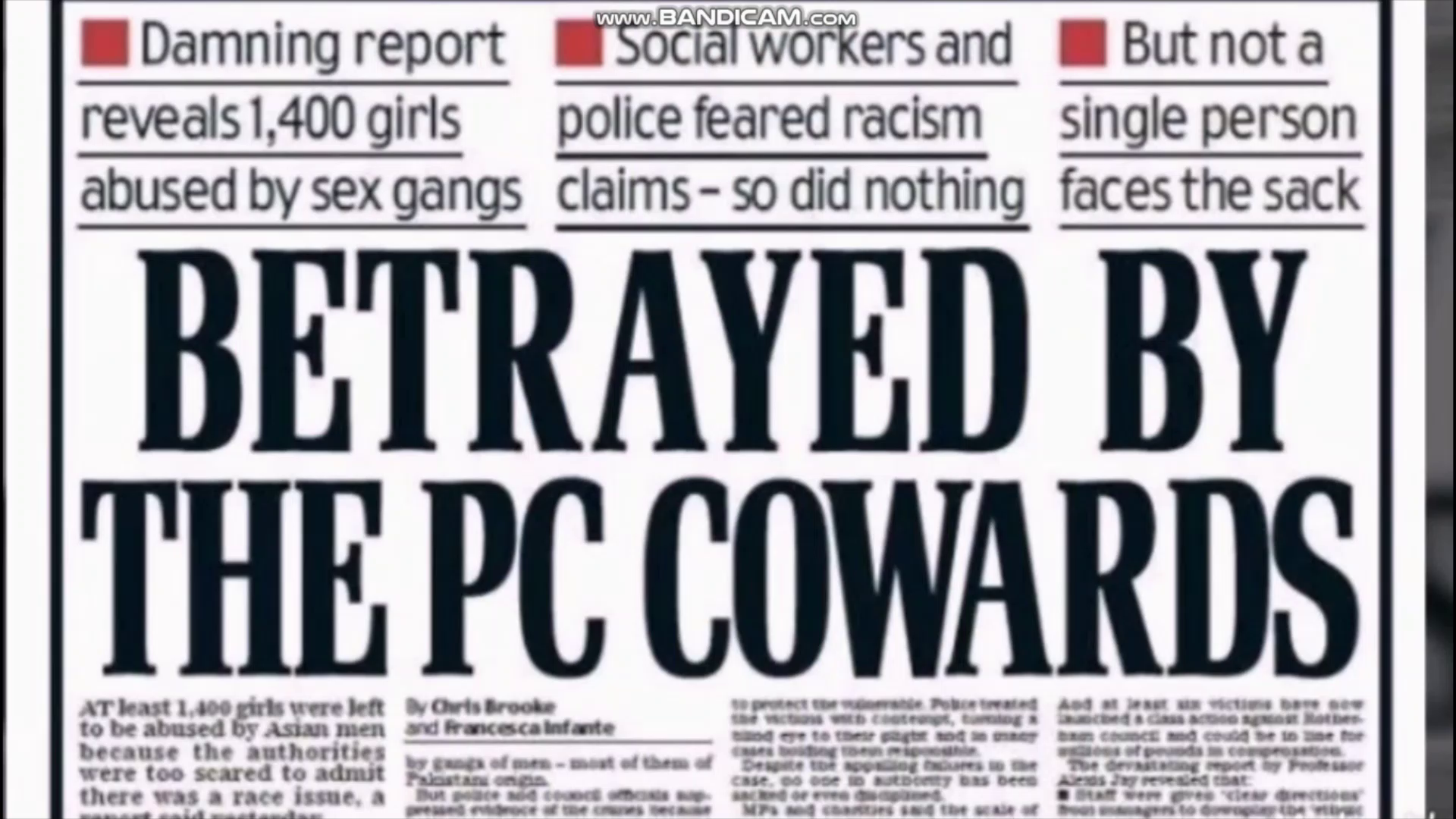 exterminate every motherfooking last one of em and where were all the white fathers??