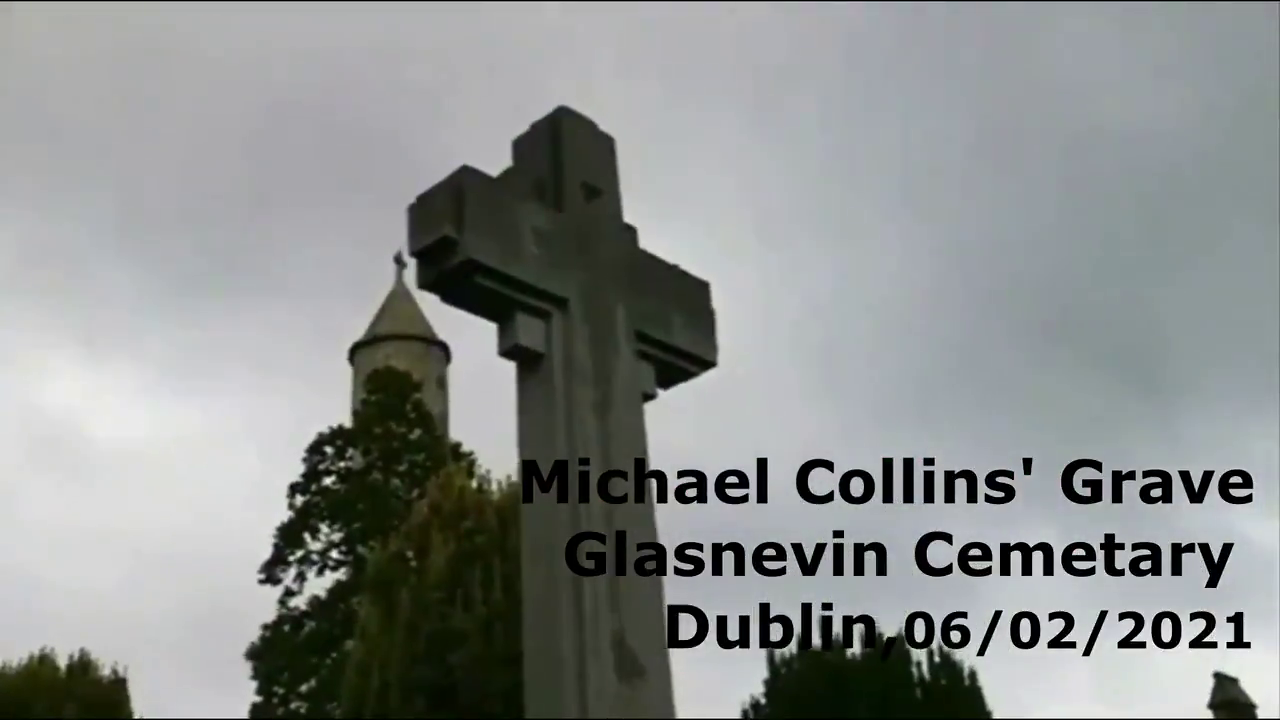 Gardaí raid an illegal rosary at the grave of Michael Collins after being tipped off nobody was performing the Jerusalema dance challenge.