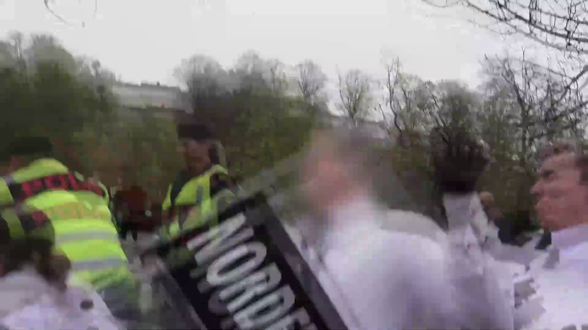 Nordic Resistance Movement - Demonstration in Kungälv, Sweden, 2019