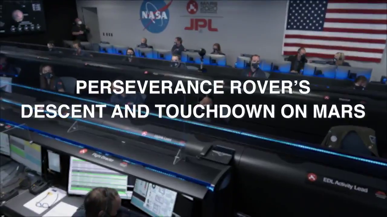- NASA releases video footage of the descent to Greenla... sorry MARS