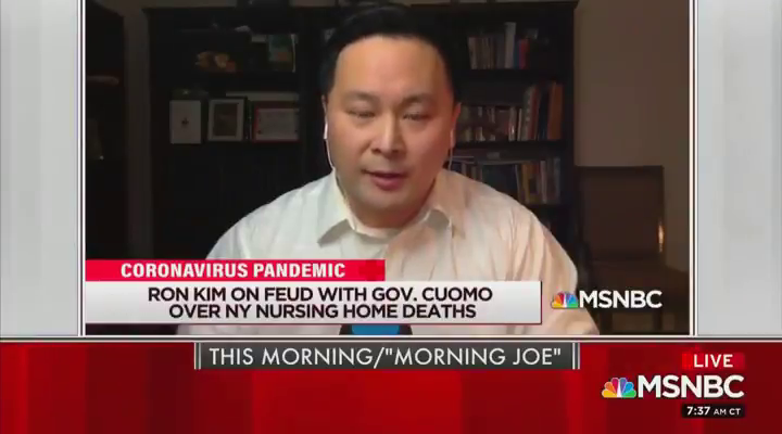 "Cuomo called and ""berated me, yelled at me. He told me that my career would be over"