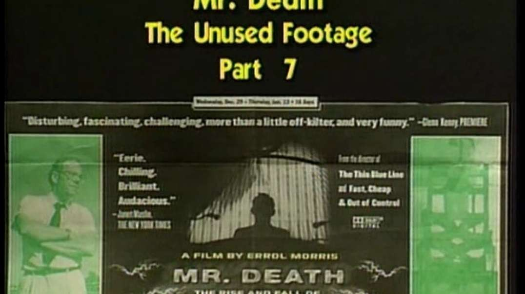 AVOF 229 - Mr. Death - The Unused Footage - part 7 of 8
