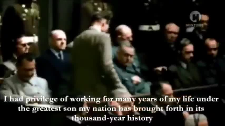 RUDOLF HESS: I have done my duty toward my people