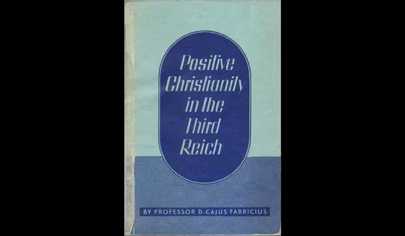 Positive Christianity in the Third Reich - full audio book